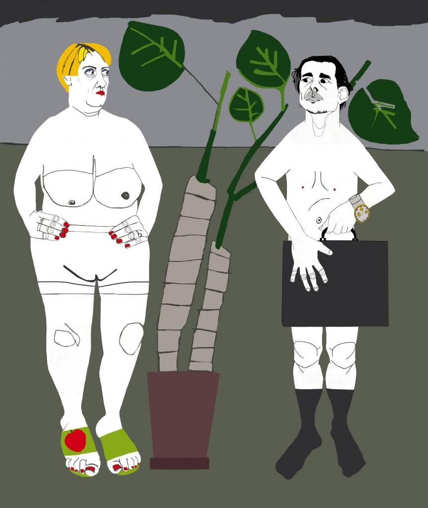 Bad Eve and good Adam