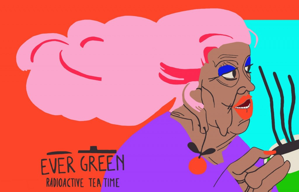 Radioactive tea time