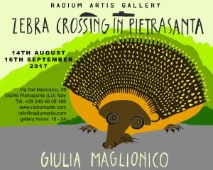 invito Zebra Crossing in Pietrasanta
